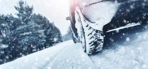 Bil i vinterväder